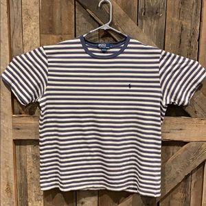 Vintage Polo Ralph Lauren Striped TShirt